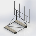 Single Sector Non-Penetrating Roof Mounts