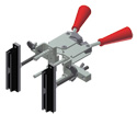 "Magnetic handle clamps, 8"" min width (Each)"